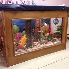 Fish Tank Reception Desk Commercial U0026 Medical Office Dichotomy Home Llc