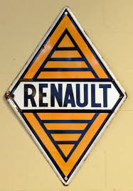 renault orange file orange renault enamel advert sign at the den hartog ford