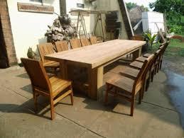 Refinishing Teak Patio Furniture Refinish Your Teak Outdoor Dining Table U2014 Outdoor Furniture
