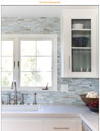 kitchen style classic beach kitchen mosaic backsplash white frame