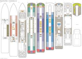 regatta deck plans diagrams pictures video