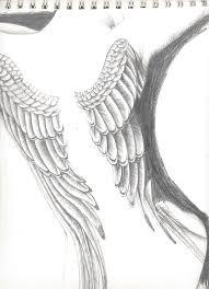 angel wings by lyrixia on deviantart