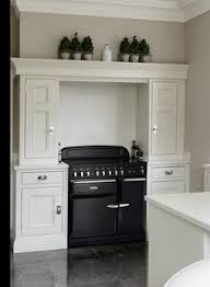 Style Of Kitchen Design Tall Cupboard To Left Of Range Area With Ovens Though Short On