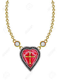 cross heart necklace images Cross necklace drawing at free for personal use jpg