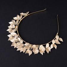 vintage wedding jewelry aliexpress buy leaf tiara crown 2017 gold silver vintage