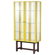 Ikea Dining Room Cabinets Stockholm Glass Door Cabinet Yellow Ikea Stuff I Love