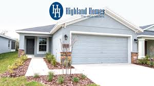 Home Plan Blossom Home Plan By Highland Homes Florida New Homes For Sale