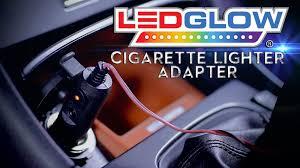 ledglow cigarette lighter adapter youtube