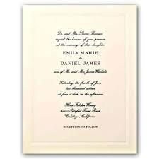 engraved wedding invitations beaded frame ecruwhite engraved embassy wedding invitations