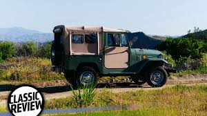 classic land cruiser this is why everyone wants an fj40 toyota land cruiser
