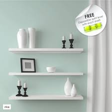 Free Floating Shelves by Riva Wood Floating Shelves Available At Builders Warehouse