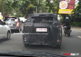new mitsubishi mpv 2017 mitsubishi xm2 2017 production version caught being tested in