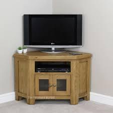 Corner Tv Cabinet For Flat Screens Cheshire Oak Corner Tv Unit Furniture Pinterest Oak Corner