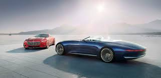 mercedes maybach 2015 the vision mercedes maybach 6 cabriolet floats into pebble beach