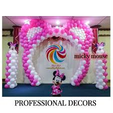minnie mouse balloon decoration home decor 2017