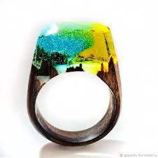 buy wood rings images Wooden ring extravaganza shop online on livemaster with shipping jpg