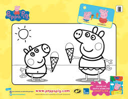 free printable peppa pig coloring mama likes