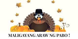 happy thanksgiving in tagalog