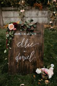 Backyard Fall Wedding Ideas Moody Fall Wedding Inspiration 100 Layer Cake