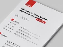 43 best resumes images on pinterest cv design resume design and