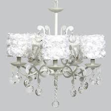 Chandelier With Black Shades Shabby Chic Chandeliers