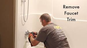 How To Change Faucet In Bathtub How To Remove A Fiberglass Bathtub And Surround In 60 Minutes