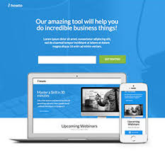 consulting landing page templates by unbounce
