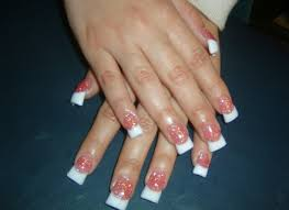 acrylic nail french tip designs how you can do it at home cpgds