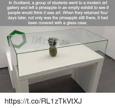 Modern Art Meme - in scotland a group of students went to a modern art gallery and