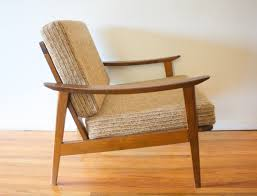 Style Chairs Mid Century Modern Hans Wegner Style Arm Lounge Chairs Picked Vintage