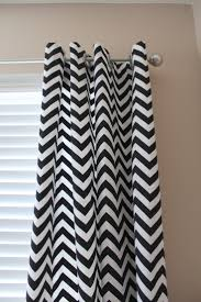 Gray And White Chevron Curtains by Zig Zag Curtain Decorate The House With Beautiful Curtains