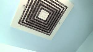 Broan Bathroom Fan With Light Big Broan Exhaust Fan Youtube