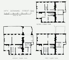 Ground And First Floor Plans by Plate 133 No 11 Downing Street Plans Of Ground First And