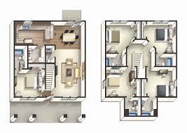 4 bedroom floor plans 2 story 2 story floor plans awesome 4 bedroom 2 story floor plans luxamcc