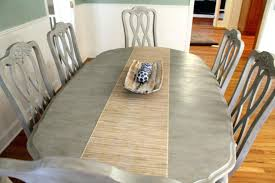 Painting Dining Room Table Painting Dining Table With Chalk Paint Best Painting 2018