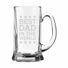 Best Mug by Best Dad In The World Beer Mug Set Of 2 Giftsmate