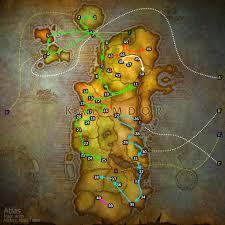 kalimdor map atlas view topic alliance kalimdor