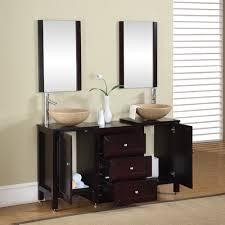 stunning vessel sink double vanity and bathroom vanities with
