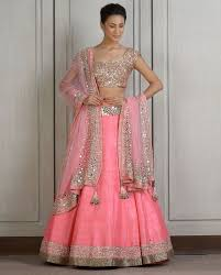 lengha choli for engagement light pink lehenga ideas for engagement indian ethnic wear