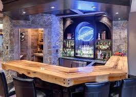 home bar room rustic bar wine room rustic home bar minneapolis by