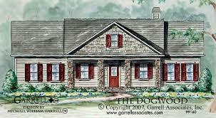 One Story Ranch Style House Plans Dogwood House Plan House Plans By Garrell Associates Inc