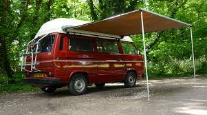 Vehicle Awnings Uk Vw T25 T3 Vanagon Arb 2500mm X 2500mm Awning With Cvc Fitting Kit