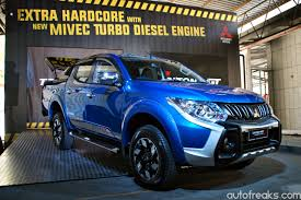 triton mitsubishi 2017 mitsubishi motors malaysia launches triton with new mivec turbo