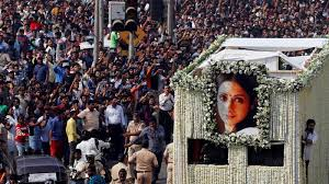 funeral fans sridevi funeral fans actors pay last respects to superstar