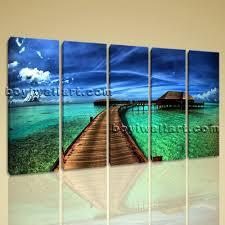 large maldives beac landscape photography home decor wall art