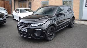 range rover car black all black range rover evoque 2 0 dynamic at baytree cars youtube