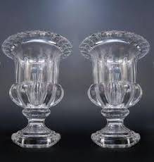Baccarat Bud Vase Baccarat Art Crystal
