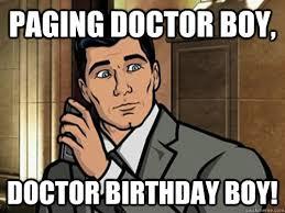 Doctor Who Birthday Meme - need more archer memes album on imgur