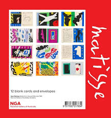 booktopia matisse jazz series greeting card set 12 blank cards