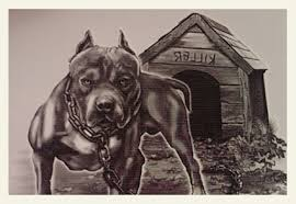 tipper sends in pit bull image from kid u0027s temporary tattoo machine